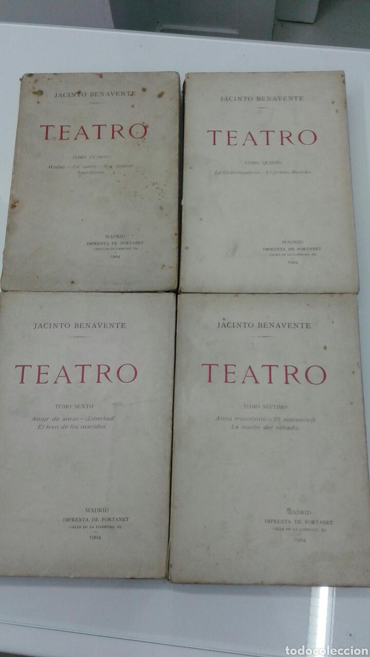 Libros antiguos: TEATRO JACINTO BENAVENTE 1904 A 1928 36 TOMOS 1922 VARIAS PRIMERAS EDICIONES EN ESTA COLECCION - Foto 11 - 117767672