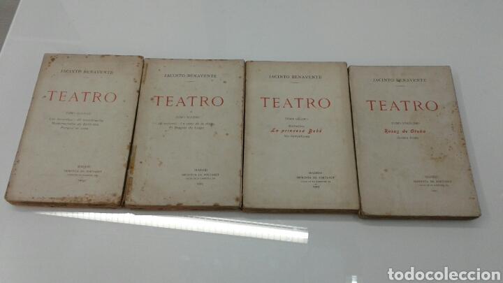 Libros antiguos: TEATRO JACINTO BENAVENTE 1904 A 1928 36 TOMOS 1922 VARIAS PRIMERAS EDICIONES EN ESTA COLECCION - Foto 12 - 117767672