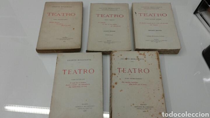 Libros antiguos: TEATRO JACINTO BENAVENTE 1904 A 1928 36 TOMOS 1922 VARIAS PRIMERAS EDICIONES EN ESTA COLECCION - Foto 13 - 117767672