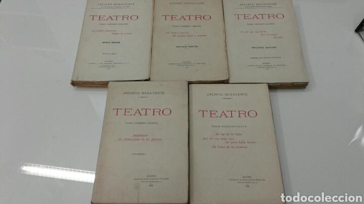 Libros antiguos: TEATRO JACINTO BENAVENTE 1904 A 1928 36 TOMOS 1922 VARIAS PRIMERAS EDICIONES EN ESTA COLECCION - Foto 14 - 117767672
