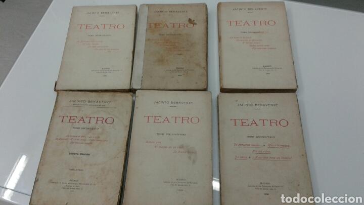 Libros antiguos: TEATRO JACINTO BENAVENTE 1904 A 1928 36 TOMOS 1922 VARIAS PRIMERAS EDICIONES EN ESTA COLECCION - Foto 16 - 117767672