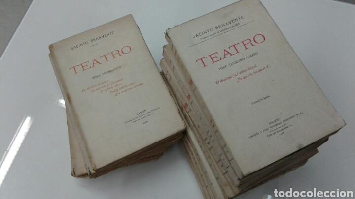 Libros antiguos: TEATRO JACINTO BENAVENTE 1904 A 1928 36 TOMOS 1922 VARIAS PRIMERAS EDICIONES EN ESTA COLECCION - Foto 17 - 117767672
