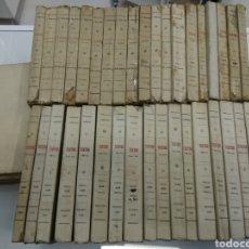 Libros antiguos: TEATRO JACINTO BENAVENTE 1904 A 1928 36 TOMOS 1922 VARIAS PRIMERAS EDICIONES EN ESTA COLECCION. Lote 117767672