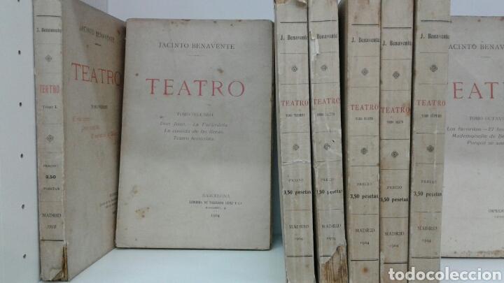 Libros antiguos: TEATRO JACINTO BENAVENTE 1904 A 1928 36 TOMOS 1922 VARIAS PRIMERAS EDICIONES EN ESTA COLECCION - Foto 6 - 117767672