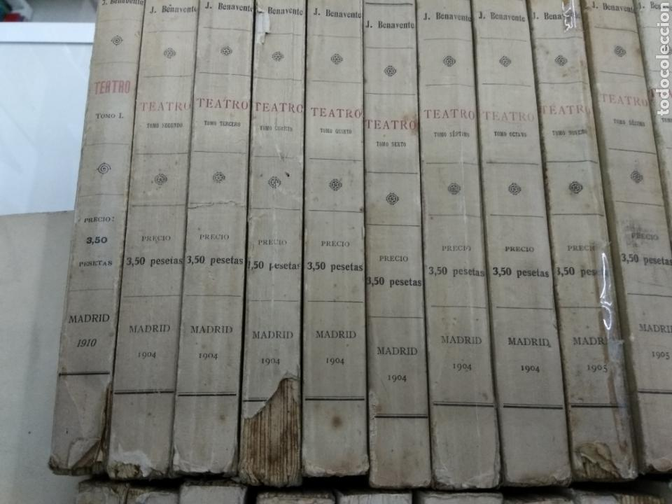 Libros antiguos: TEATRO JACINTO BENAVENTE 1904 A 1928 36 TOMOS 1922 VARIAS PRIMERAS EDICIONES EN ESTA COLECCION - Foto 2 - 117767672