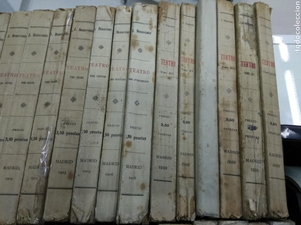 Libros antiguos: TEATRO JACINTO BENAVENTE 1904 A 1928 36 TOMOS 1922 VARIAS PRIMERAS EDICIONES EN ESTA COLECCION - Foto 3 - 117767672