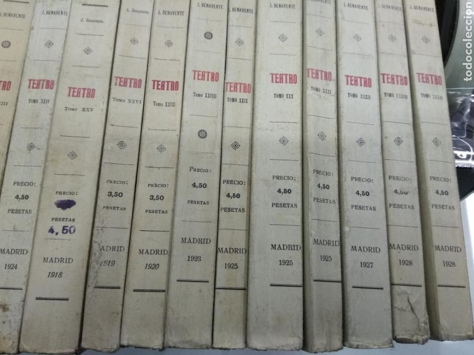 Libros antiguos: TEATRO JACINTO BENAVENTE 1904 A 1928 36 TOMOS 1922 VARIAS PRIMERAS EDICIONES EN ESTA COLECCION - Foto 5 - 117767672