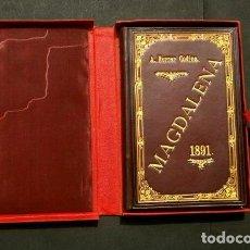 Libros antiguos: MAGDALENA - DRAMA SACRO EN 6 ACTOS 1891 - ANTON FERRER CODINA (EN CATALÀ) A D. ERNEST S. COMENDADOR. Lote 120911583