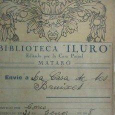 Libros antiguos: LA CASA DE LAS BRUIXES, JOSEP CIURANA - BIBLIOTECA ILURO, MATARO - ED CASA PATUEL. Lote 120986807