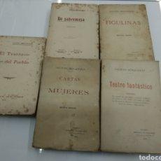Libros antiguos: 5 OBRAS JACINTO BENAVENTE FIGULINAS DE SOBREMESA TEATRO FANTASTICO PRIMERAS EDICIONES. Lote 121334975