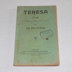 Libros antiguos: TERESA- JOSE FOLA IGURBIDE. Lote 122091591
