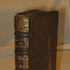 Libros antiguos: LES OEUVRES DE PLAUTE EN LATIN ET EN FRANÇOIS. TOME NEUVIEME. (1719, A AMSTERDAM).. Lote 122220419