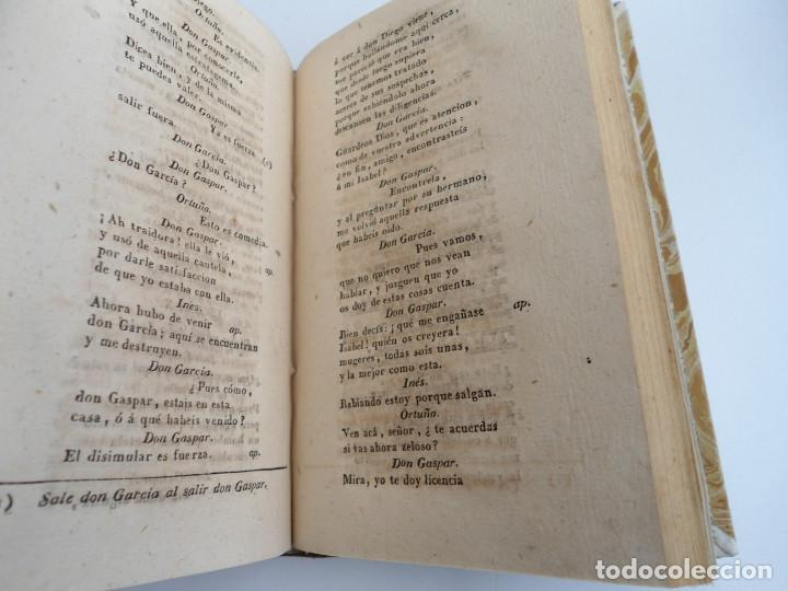 Libros antiguos: COMEDIAS ESCOGIDAS D. ANTONIO DE SOLIS Y RIVADENEIRA - Impr. ORTEGA Y COMPAÑIA 1828 - Foto 9 - 122441931