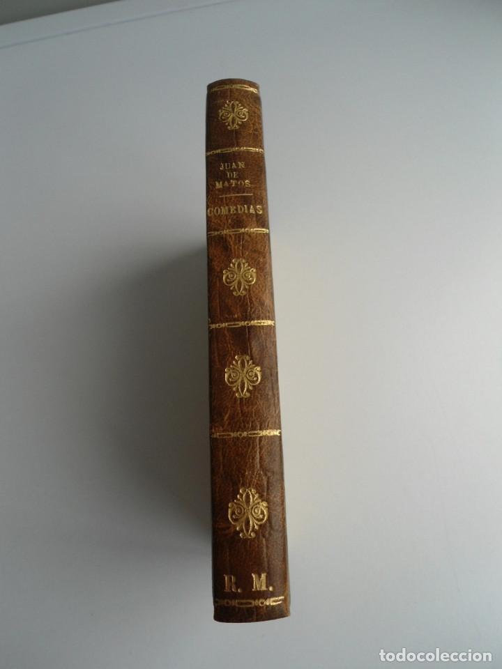 Libros antiguos: COMEDIAS ESCOGIDAS DE DON JUAN MATOS FRAGOSO - Impr. ORTEGA Y COMPAÑIA 1828 - Foto 3 - 122702475