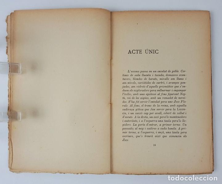 Libros antiguos: ELS JOCS FLORALS DE CANPROSA. SANTIAGO RUSIÑOL. 3º EDICIÓN. BARCELONA. - Foto 5 - 124077879