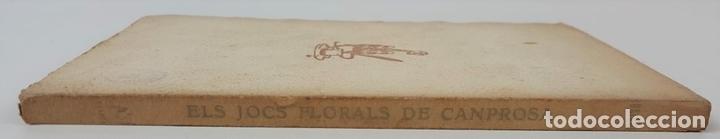 Libros antiguos: ELS JOCS FLORALS DE CANPROSA. SANTIAGO RUSIÑOL. 3º EDICIÓN. BARCELONA. - Foto 9 - 124077879