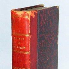 Libros antiguos: TEATRO ESCOGIDO DE CALDERON DE LA BARCA.(1863). Lote 124205235