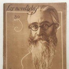 Libros antiguos: LOS NOVELISTAS, NÚM. 1. RAMÓN DEL VALLE-INCLÁN. FIN DE UN REVOLUCIONARIO. - [URIARTE, LUIS]. 1928.. Lote 123271459