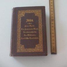 Libros antiguos: HENRIK IBSEN'S GESAMMELTE WERKE. DRITTER BAND. VERLAG PHILIPP RECLAM LEIPZIG. Lote 124798983