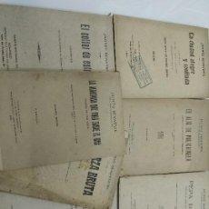 Libros antiguos: JACINTO BENAVENTE OBRAS DE EPOCA PRIMERAS EDICIONES 1909 A1928 TEATRO PREMIO NOBEL. Lote 126041435