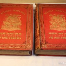Libros antiguos: AUTORES DRAMATICOS CONTEMPORANEOS. 2 VOL,1881. Lote 126392347
