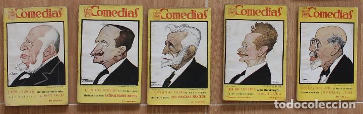Libros antiguos: COMEDIAS -REVISTA SEMANAL- 15 NÚMEROS: 47-48-49-5051-52-53-26-66-67-68-69-70-71-72- 1927 - Foto 4 - 127119091