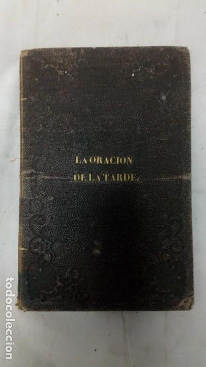 Libros antiguos: La oración de la tarde, Luis Mariano de Larra, teatro, 1858, autografiado por el autor - Foto 3 - 130619198