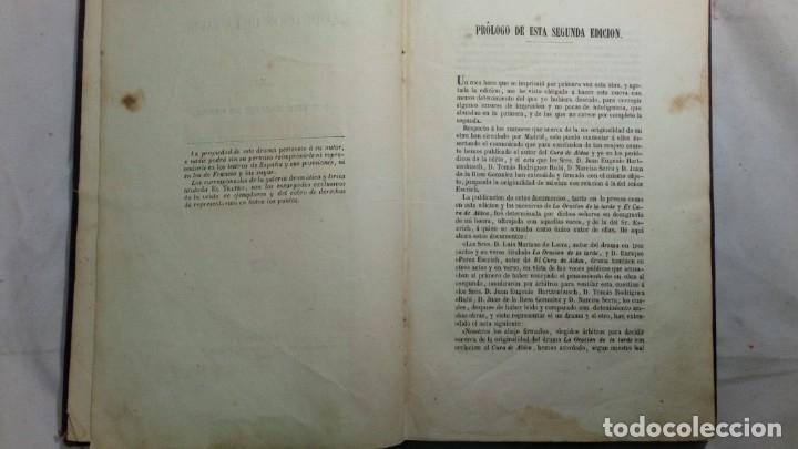 Libros antiguos: La oración de la tarde, Luis Mariano de Larra, teatro, 1858, autografiado por el autor - Foto 7 - 130619198
