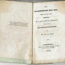Libros antiguos: LOS CASAMIENTOS DEL DÍA, POR FRANCISCO ALTÉS. AÑO 1888. (12.6). Lote 131891234