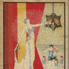Libros antiguos: EN PLENA LOCURA, POR TOMÁS BORRÁS Y S. FRANCO PADILLA. AÑO 1927. (13.6). Lote 132352222