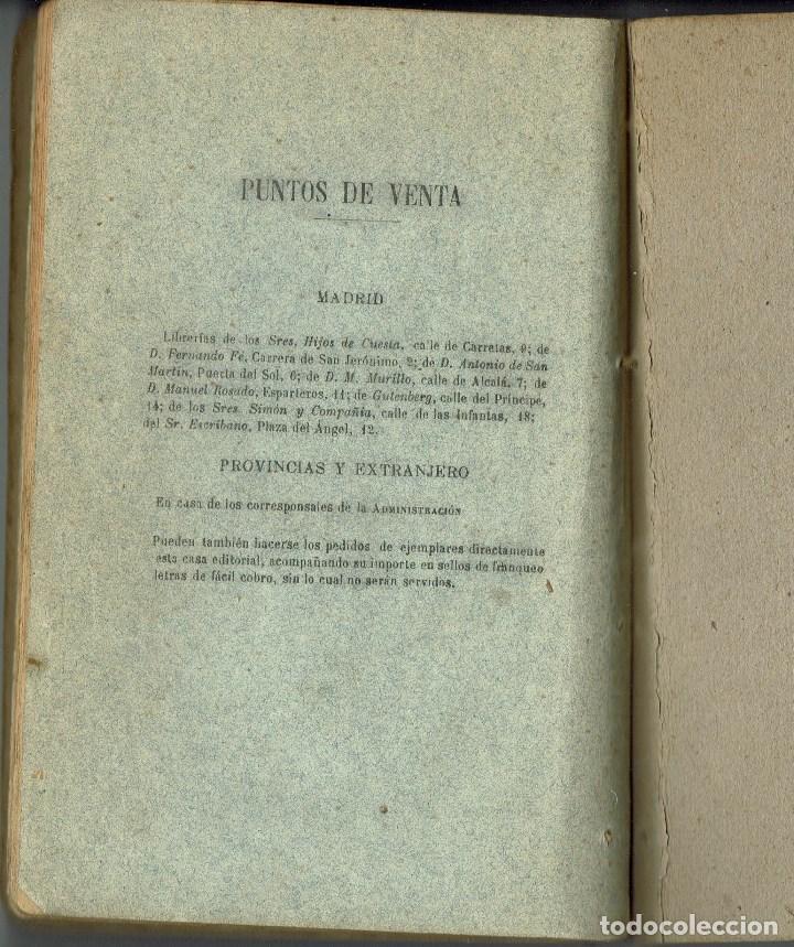 Libros antiguos: ¡CÓMO ESTÁ LA SOCIEDAD!, POR JAVIER DE BURGOS. AÑO 1884. (3.6) - Foto 9 - 132352742