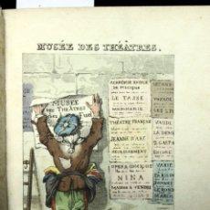 Libros antiguos: LE MUSÉE DES THÉATRES. - PARÍS, S.A. (C. 1822).. Lote 114797663