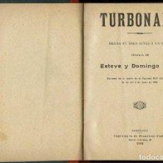 Libros antiguos: TUMBONADA, PER ESTEVE Y DOMINGO DUCET. AÑO 1902. (1.7). Lote 133137986