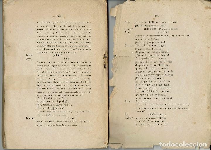 Libros antiguos: TEATRO COMPLETO. TOMO I, POR JOSÉ ECHEGARAY. AÑO 1886. (1.7) - Foto 2 - 133140590