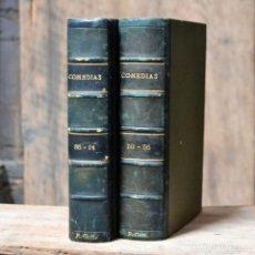 Libros antiguos: COMEDIAS * 2 TOMOS * CONJUNTO DE OBRAS AUTORES VARIOS * 1927 *EDITORIAL SIGLO XX. Lote 133241322