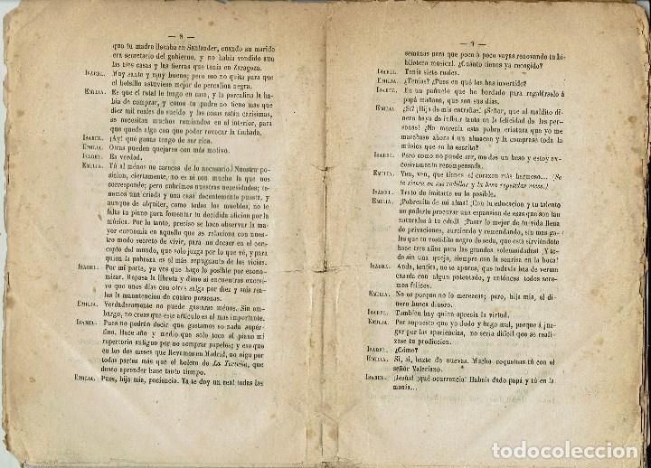 Libros antiguos: LA LEVITA, POR DON ENRIQUE GASPAR. AÑO 1878. (10.6) - Foto 3 - 133554874