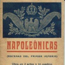Libros antiguos: NAPOLEÓNICAS, POR MILLÁ Y FIRMAT. AÑO ¿? (3/7). Lote 134293406