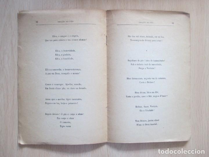 Libros antiguos: Oração ao Pão, de Guerra Junqueiro - Foto 7 - 134767386
