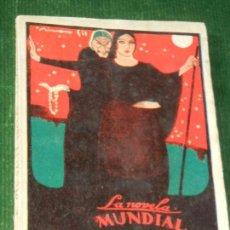 Libros antiguos: LIGAZON. AUTO PARA SILUETAS, DE RAMON DEL VALLE-INCLAN, LA NOVELA MUNDIAL NUM.24 1926. Lote 134919302