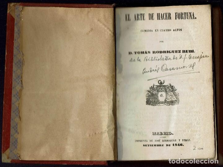 Libros antiguos: 3 OBRAS DE T.RODRÍGUEZ RUBÍ/QUIEN DEBE,PAGA,DE G.NÚÑEZ DE ARCE.BIBLIO.J.BENEJAM VIVES.1846-1868(9.6) - Foto 4 - 135476746