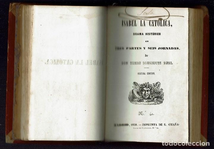 Libros antiguos: 3 OBRAS DE T.RODRÍGUEZ RUBÍ/QUIEN DEBE,PAGA,DE G.NÚÑEZ DE ARCE.BIBLIO.J.BENEJAM VIVES.1846-1868(9.6) - Foto 5 - 135476746
