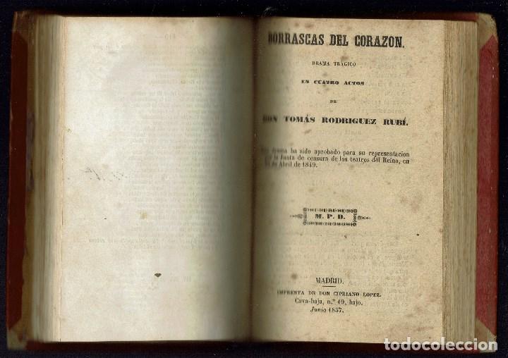 Libros antiguos: 3 OBRAS DE T.RODRÍGUEZ RUBÍ/QUIEN DEBE,PAGA,DE G.NÚÑEZ DE ARCE.BIBLIO.J.BENEJAM VIVES.1846-1868(9.6) - Foto 9 - 135476746