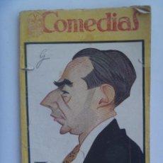 Libros antiguos: COMEDIAS : EL SOLAR, DE JUAN JOSE LORENTE Y EL PORTAL DE BELEN, DE ANTONIO PASO. 1927.. Lote 135499406