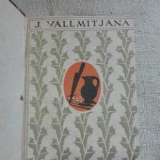Libros antiguos: JULIO VALLMITJANA. LA MALA VIDA. DRAMA EN TRES ACTOS. 1918. PRIMERA EDICIÓN. Lote 135511511