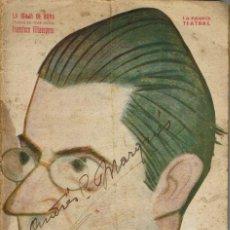 Libros antiguos: LA MAJA DE GOYA, POR FRANCISCO VILLAESPESA. AÑO 1923. (9/7). Lote 136140262