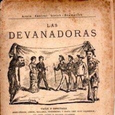 Libros antiguos: JOAN MOLAS Y CASAS : LAS DEVANADORAS (TEATRE CATALÀ, 1881). Lote 137228014