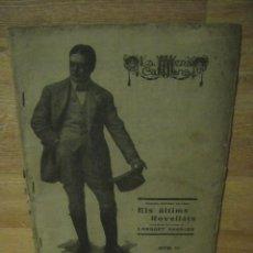 Libros antiguos: ELS ULTIMS ROVELLATS - LAMBERT ESCALER - LA ESCENA CATALANA Nº 10 , AÑO 1918 . Lote 137297958