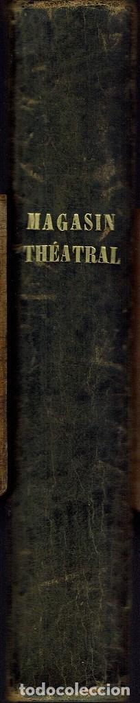 MAGASIN THÉATRAL. DIFFERENTES OEUVRES DE THEATRE EN FRANCAIS. AÑO 18??. (9/7) (Libros antiguos (hasta 1936), raros y curiosos - Literatura - Teatro)