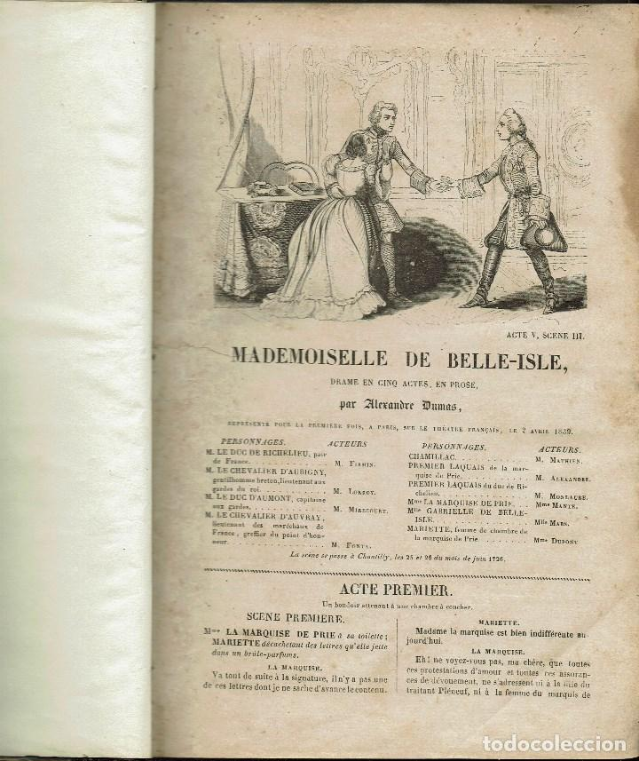 Libros antiguos: MAGASIN THÉATRAL. DIFFERENTES OEUVRES DE THEATRE EN FRANCAIS. AÑO 18??. (9/7) - Foto 4 - 137531634