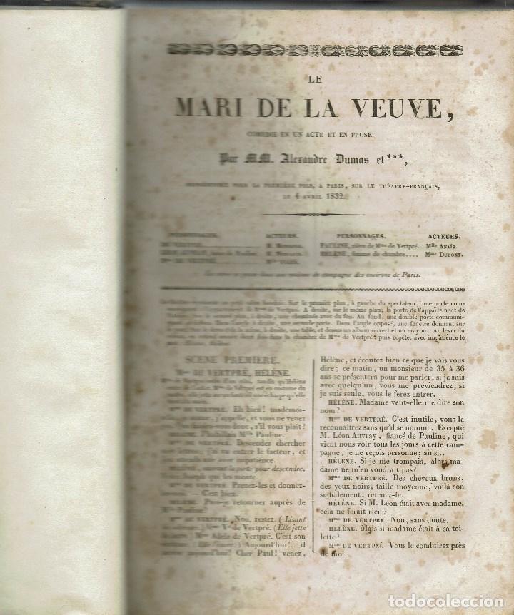 Libros antiguos: MAGASIN THÉATRAL. DIFFERENTES OEUVRES DE THEATRE EN FRANCAIS. AÑO 18??. (9/7) - Foto 5 - 137531634